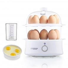 (B)하이드로마 에그쿠커 2단(화이트) 계란